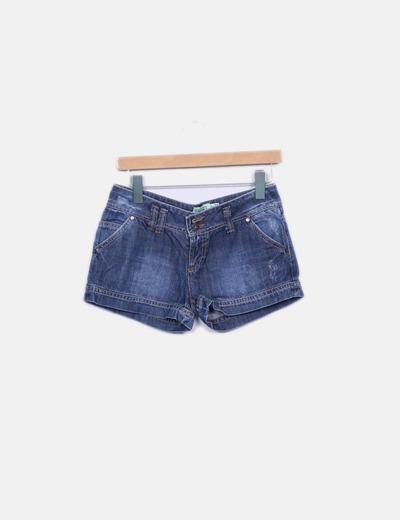 Shorts denim Bershka