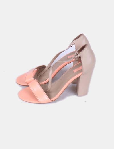 Sandales deux couleurs Lefties