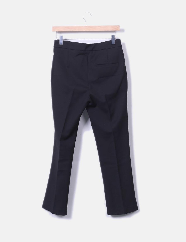 Lacuna Pantalones Chino At Zara Mujer Pantalón Negro Oxxyxh Baratos f8vaq6np