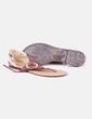 Sandales plates Buonarotti