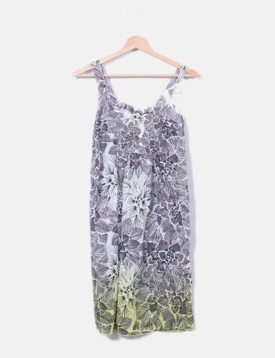Robe à bretelles imprimé floral Hoss Intropia
