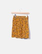 Falda mostaza estampado floral Shana