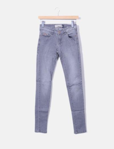 Jeans denim gris Inside