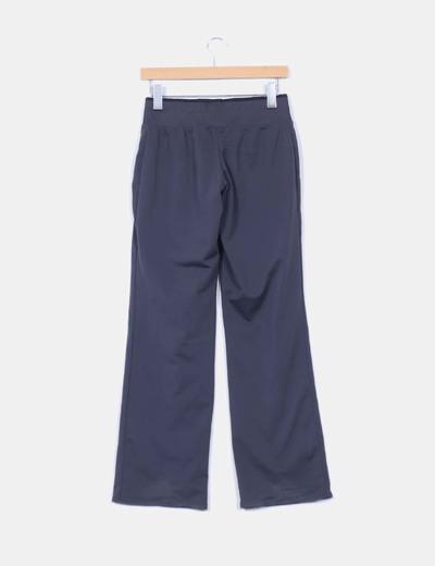 Pantalon deportivo gris marengo