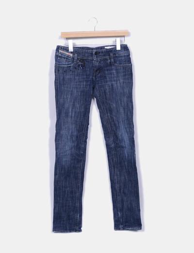 Jeans droit denim Diesel