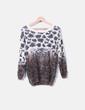 Pull tricot imprimé animal Ciao Milano