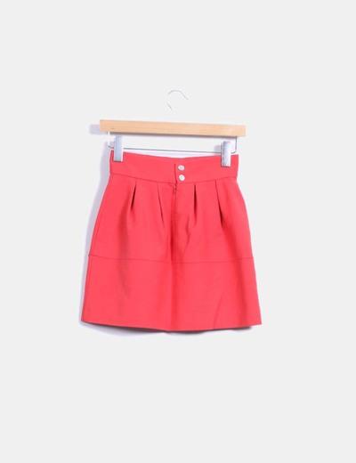 Minifalda roja