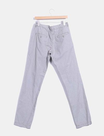 Pantalon chino mini cuadros