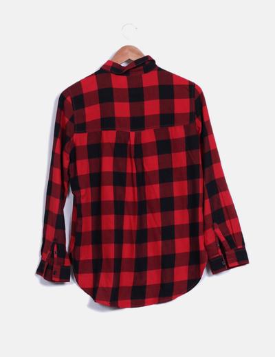 29279ec4c7391 H M Camisa de cuadros roja y negra (descuento 81%) - Micolet
