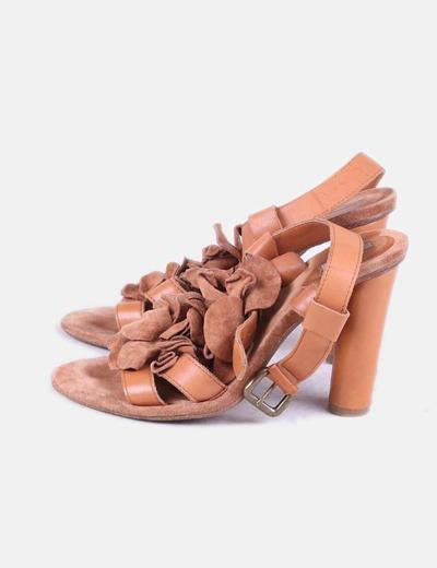 Sandales à talons Uterqüe