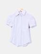 Camisa de rayas bicolor manga corta Daniel Brunni