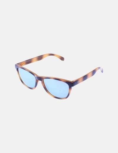 Gafa montura marrón lentes azules