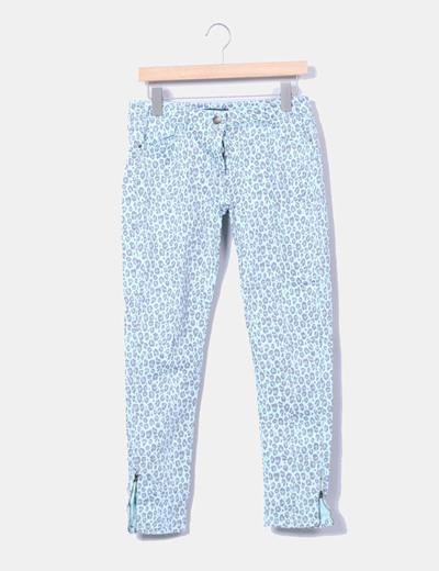 Pantalón pitillo animal print Easy Wear