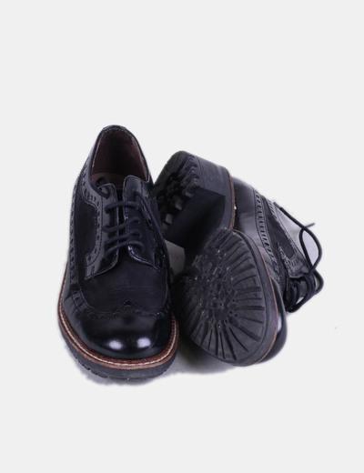 Zapatos Negros Combinados Oxford Zapatos Oxford Negros Zapatos Oxford Combinados Negros SVMpUz