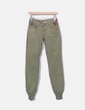 Pantalón verde con bordados Desigual