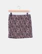 Mini falda estampada bicolor H&M