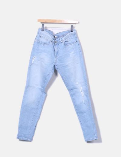 Pantalons slim Camaïeu