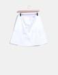 Falda blanca H&M