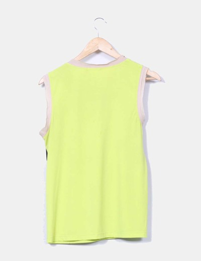 Blusa verde pistacho