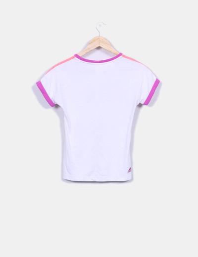 Camiseta blanca deportiva