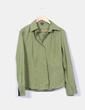 Camisa verde manga larga Esprit