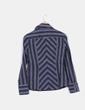 Camisa de rayas manga larga Zara