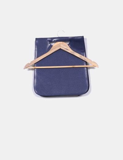Bolso de mano polipiel azul