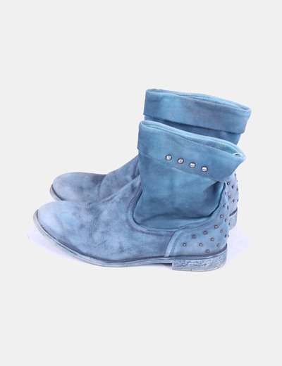 Botin azul degradado