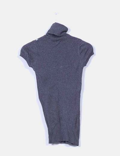 Top tricot gris rombos canale