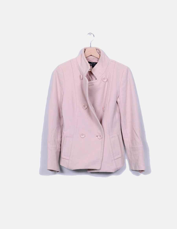 e1ee7202108 Chaquetas Abrigos Mujer Chaquetón y rosa de Zara baratos palo online  wAF4qxtZ ...