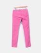 Pantalón chino rosa con tirantes Fuga