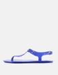 Sandalia plana azul MK Michael Kors
