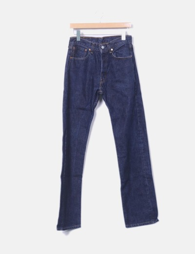 Dark denim trousers 501 Levi's
