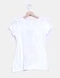 Top blanc print chica Zara