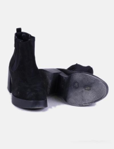 Marypaz Botín negro tacón ancho (descuento 63%) - Micolet 96a0e1c24e6b
