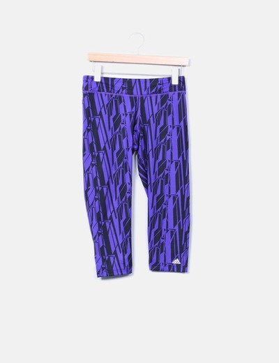 Legging estampado bicolor Adidas