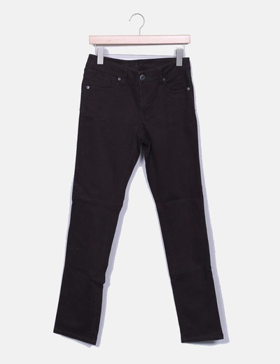 Pantalon denim marron Fórmula Jeans