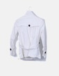 Chaqueta blanca doble botonadura Zara