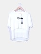 Camiseta blanca doble capa Only