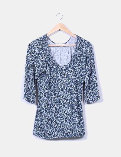Camiseta estampada floreada Yessica