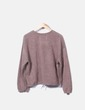 Conjunto deportivo tricot marrón Zara