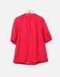 Abrigo rojo texturizado Suiteblanco