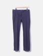 Pantalon bleu marine droit Trucco