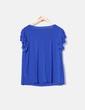 Camiseta azul con volantes NoName