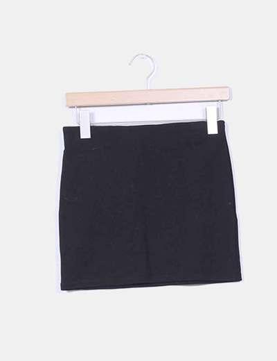 Mini falda negra básica Shana