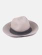 Sombrero beis con hebilla Zara
