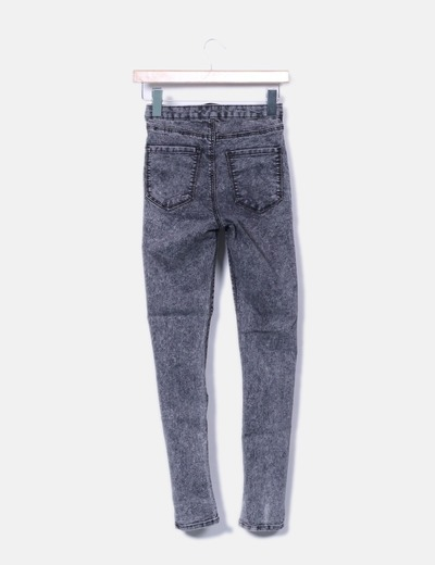 Jegging gris pitillo