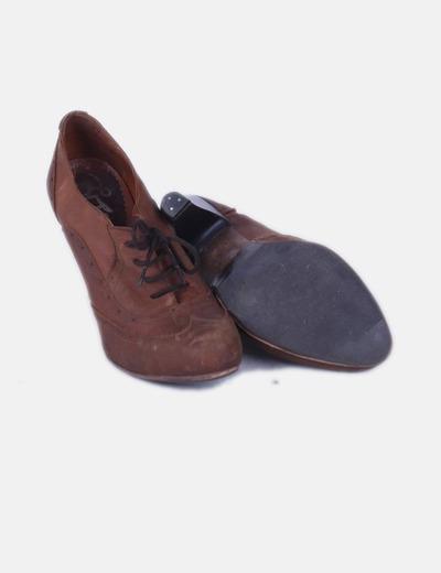 precio asombroso último vendedor caliente buscar Zapato oxford con tacón