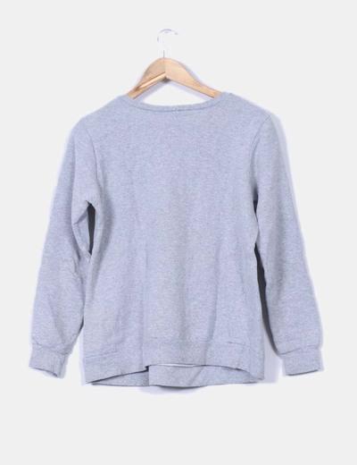 Jersey basico gris