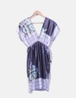 Camiseta estilo kimono satinado estampado Easy Wear